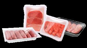 Мясо в контейнерах